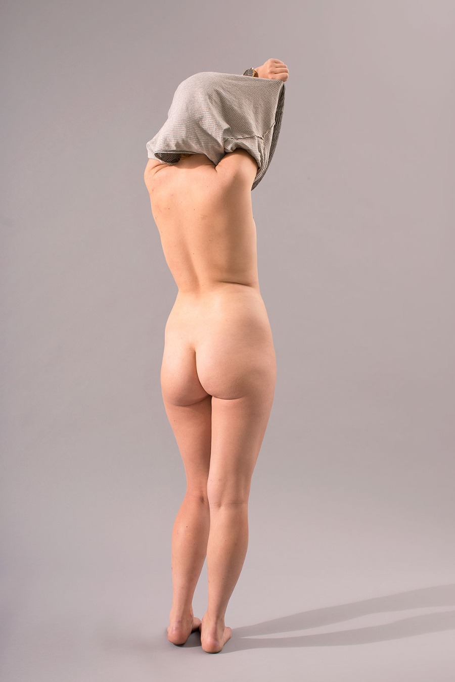Flat ass nude