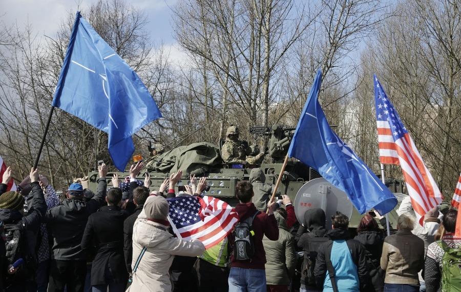 491633db0 Bratislavou bude prechádzať americký vojenský konvoj: Cieľom je posilniť  spojenectvo | Topky.sk