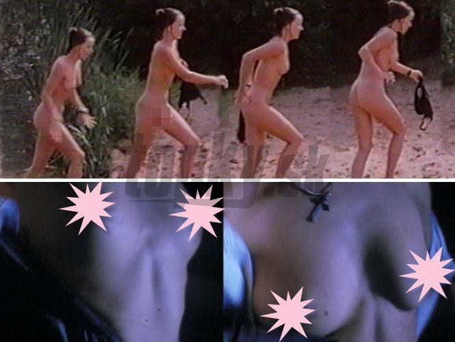 Obrovský čierny zadok nahý