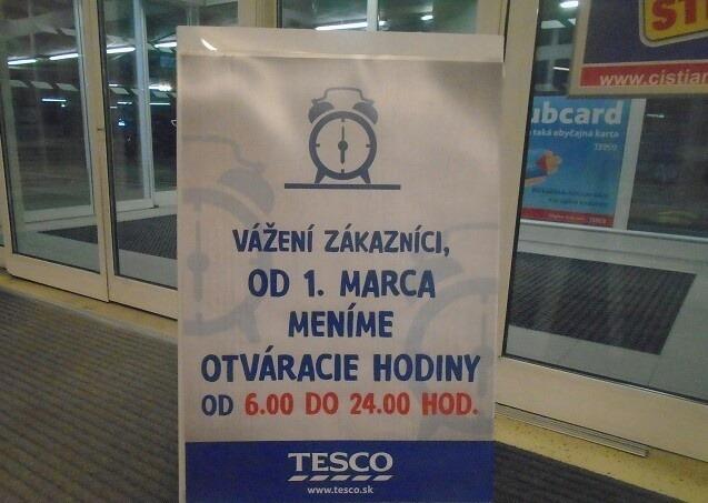 735a4b3c36a26 Tesco prekvapilo veľkou zmenou: Non-stop hypermarkety končia v ďalších  siedmich mestách! | Topky.sk