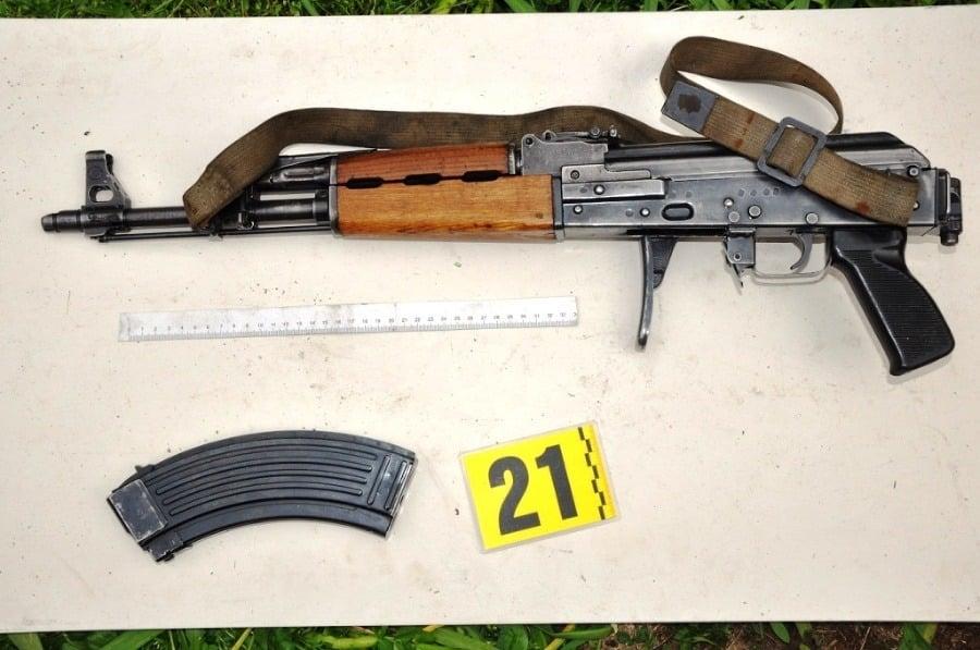 4b6e47865 NAKA rozbila nelegálny obchod na Liptove: Zbrane a strelivo ...