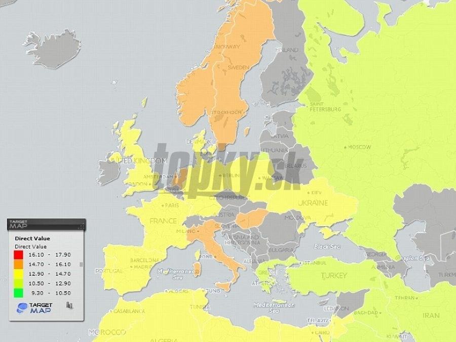 c7a248047 Veľká MAPA penisov: Toto sú krajiny, kde mužská okrasa dosahuje  najúctyhodnejšie rozmery | Topky.sk