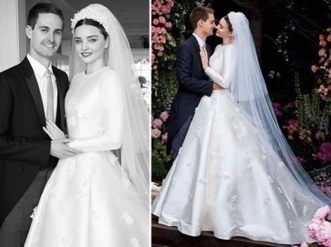 Krásna Miranda Kerr ukázala svadobné šaty  Vyzerala ako legendárna Grace  Kelly!  90d0eb81174