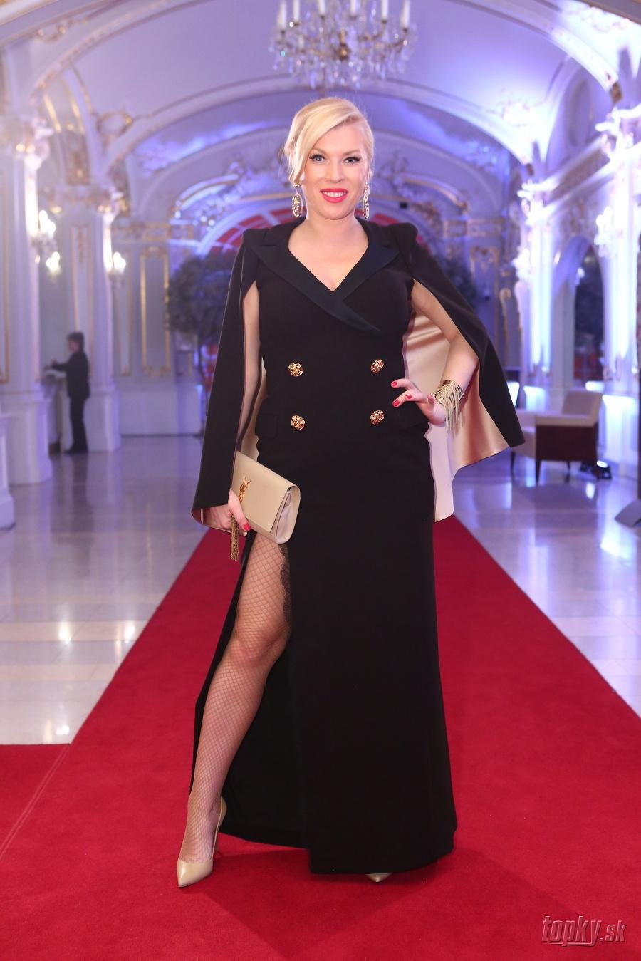 Gabriela Drobová stavila na sexi šaty ... 06104b4a5d4