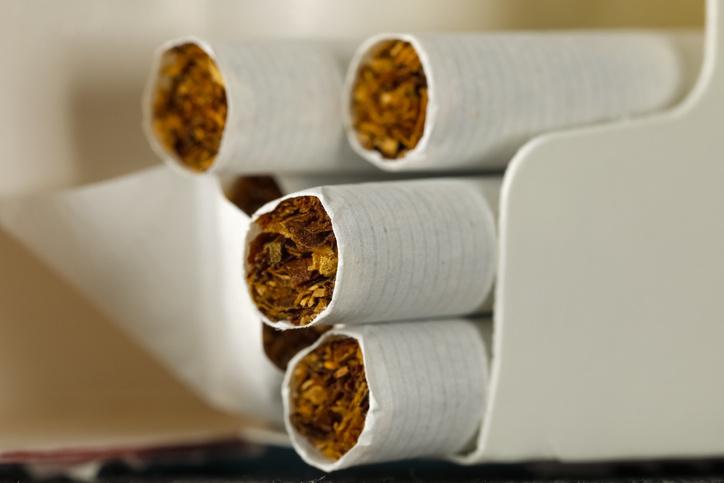 dvojité fajčenie