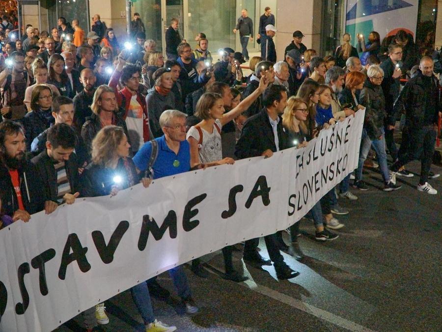 Slováci opäť vyjdú do ulíc  Počet miest 99f0ab70b22