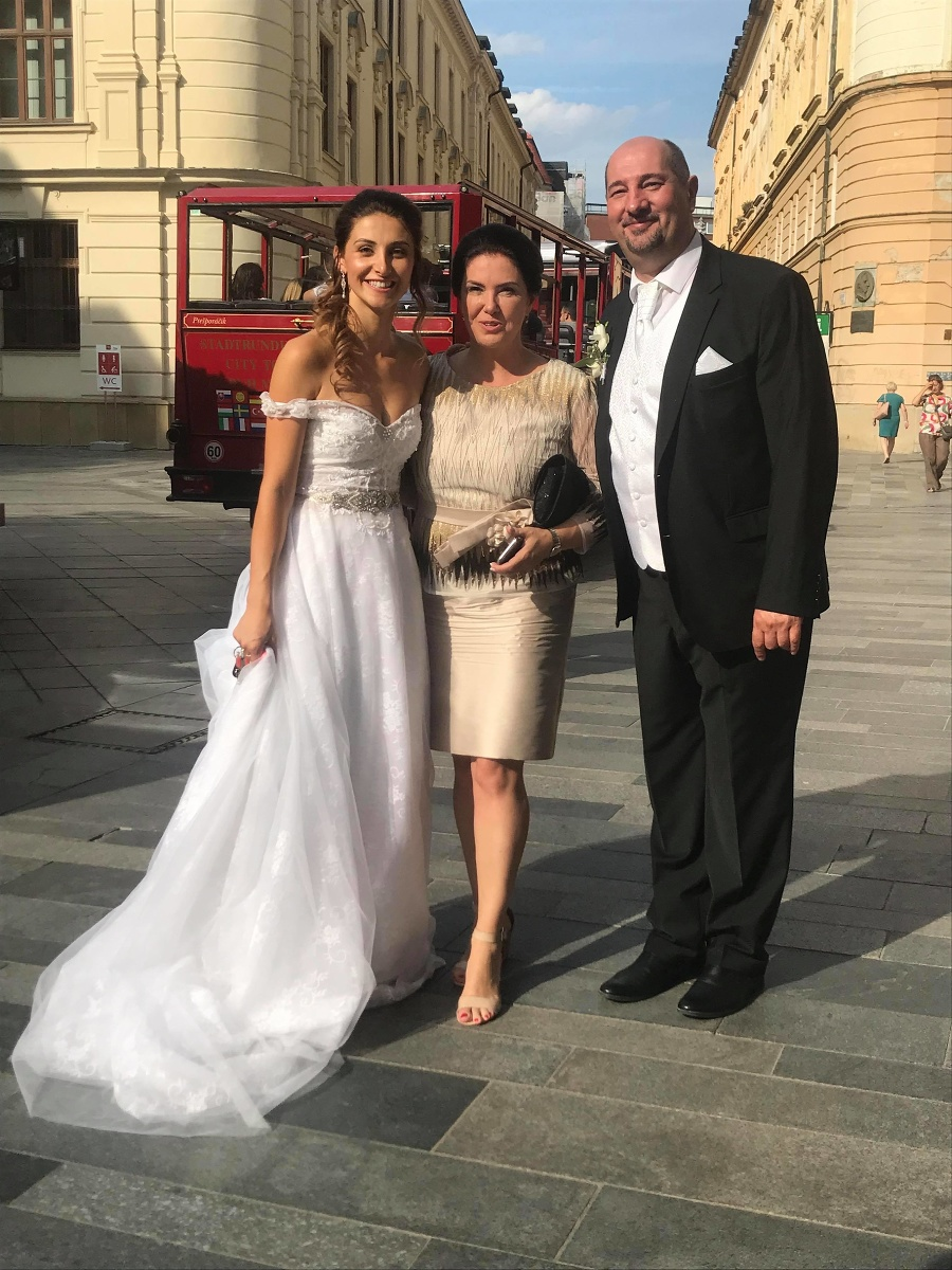 Filled in Malachowska's Wedding: The actor meets his ex-wife years