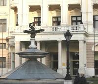 Nahý Angličan sa najskôr vykúpal vo fontáne pred SND.