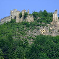 Považský hrad je v dezolátnom stave.