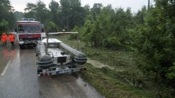 Záplavy v obci Píla