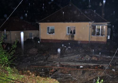 Záplavy v Píle a