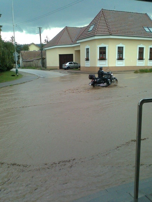 Záplavy v Modre (fototip:
