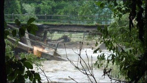 Záplavy v Píle (fototip: