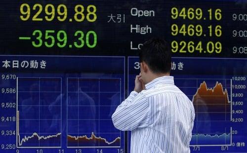 Wall Street v panike