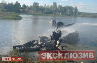Havária lietadla v Rusku