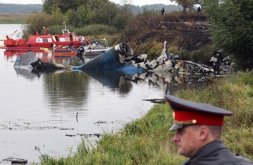 Letecká nehoda ruského lietadla