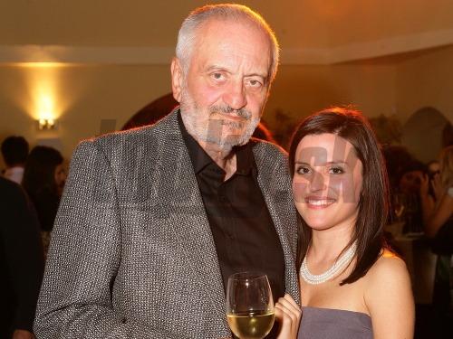 Milan Lasica s dcérou