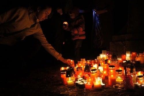 Cintoríny týždeň po sviatkoch: