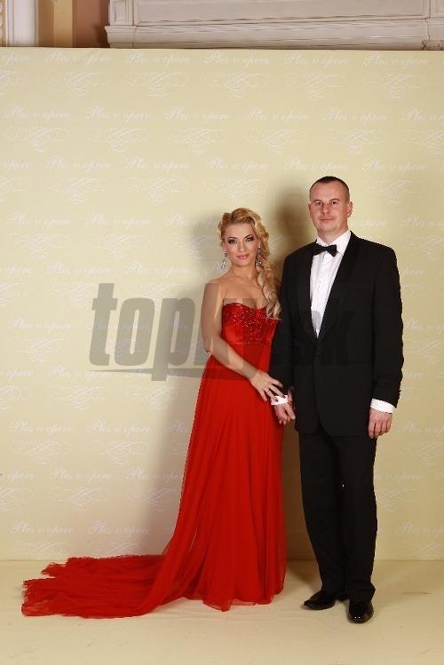 Martina Šimkovičová s manželom
