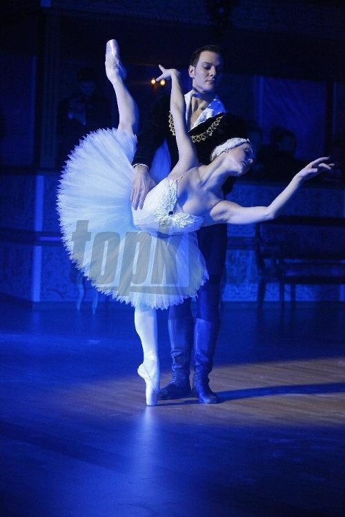 Baletné vystúpenie.