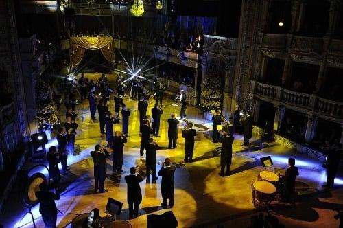 Hudobný program Plesu v