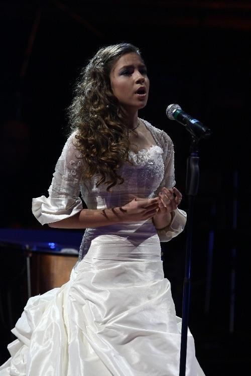 Zaspievala aj mladá talentovaná