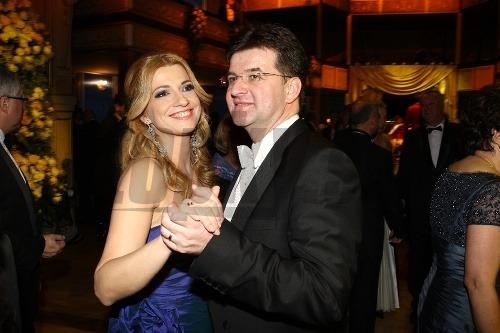 Jarmila Lajčáková-Hargašová s manželom