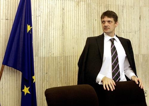 Minister hospodárstva Jirko Malchárek