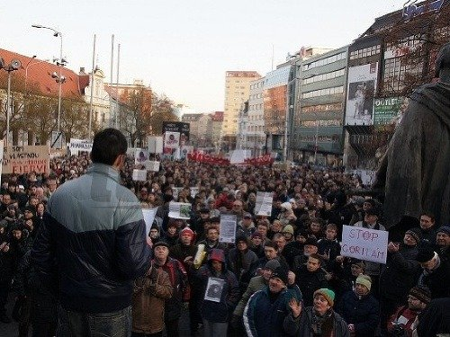 Protest proti Gorile