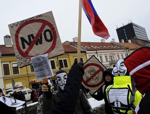 Protest Gorila v Košiciach