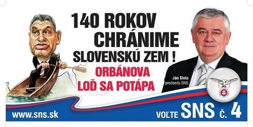Ďalší z predvolebných sloganov