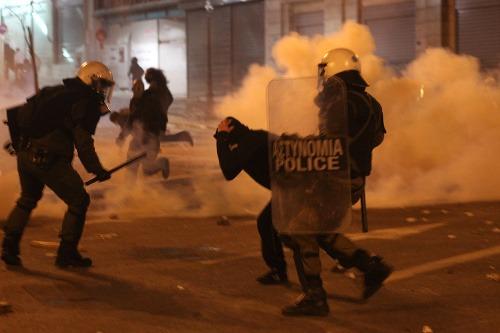 Atény v plameňoch: Grécko