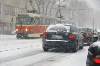 počasie sneženie Bratislava