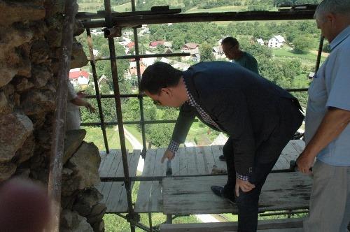 Projekt opravy hradov ministra
