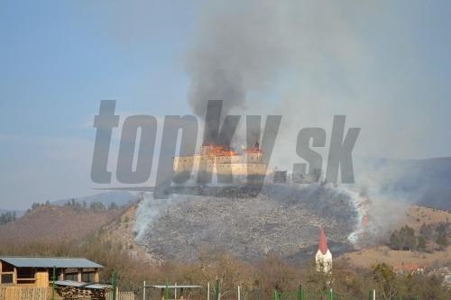 Požiar hradu Krásna Hôrka