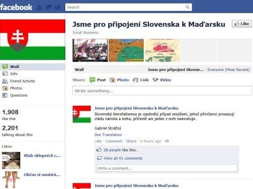 Facebook zasiahol: Kontroverznú protislovenskú