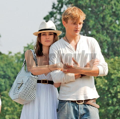 Keira Knightley a Rupert