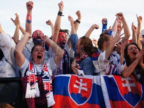 Bratislavskí fanúšikovia počas finále