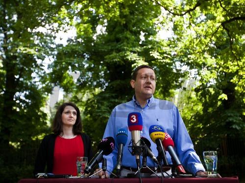 Daniel Lipšic a Jana