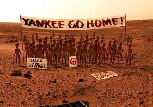 Bláznivé snímky z Marsu: