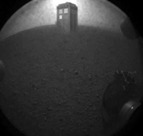 Na Marse nechýba ani