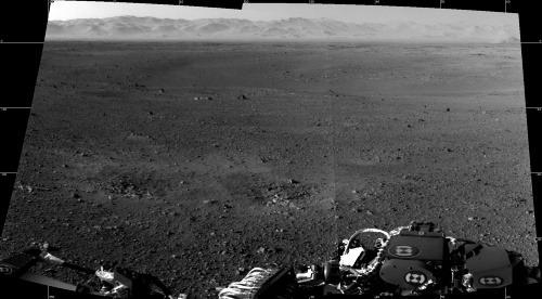 Prvé fotografie sondy Curiosity