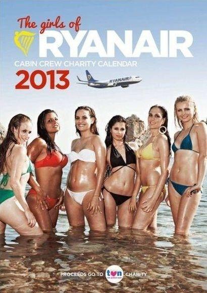 Letušky Ryanairu sexi ako