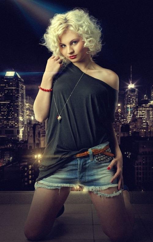 Ivanna Bagová na fotografii