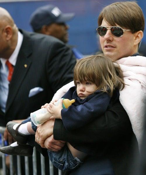 Tom Cruise s dcérkou