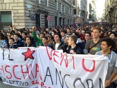 Taliansko, štrajk
