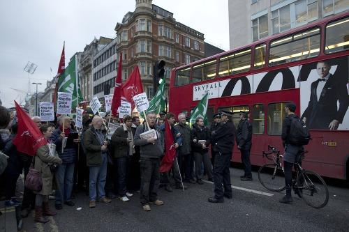 Demonštrácie v Európe