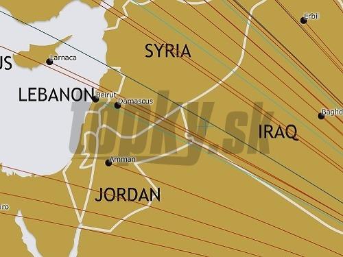 Izrael Zmizol Z Mapy Sveta Arabske Statne Aerolinky Ho Vymazali