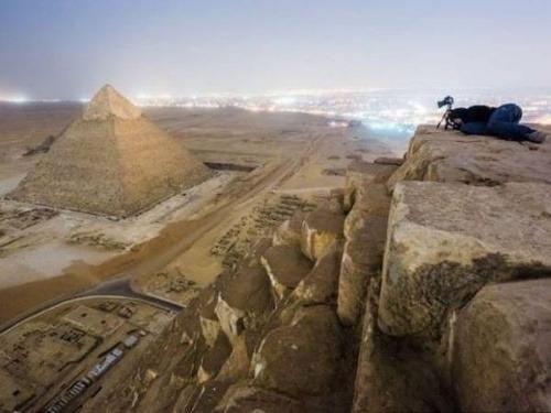 Rus vyliezol na vrchol Cheopsovej pyramídy: Tu je jedinečné