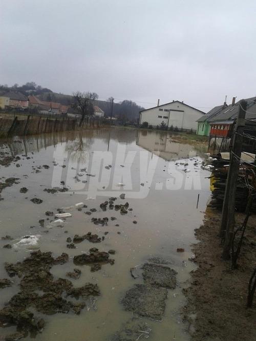 Povodeň, Opatovská nová ves.